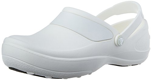 Crocs Mercy Work, Damen Clogs, Weiß (White/White), 41/42 EU