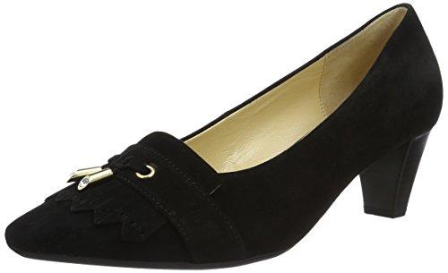 Gabor Shoes 55.142 Ladies Chiuso Pumps Nero (nero (oro) 17)
