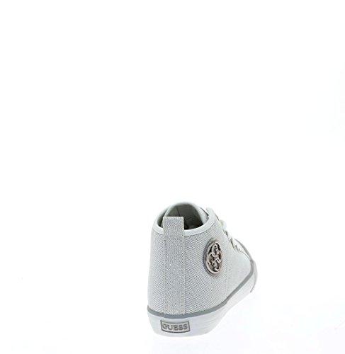 Guess Sneaker Donna Joel Stivaletto Logo Argento Argento