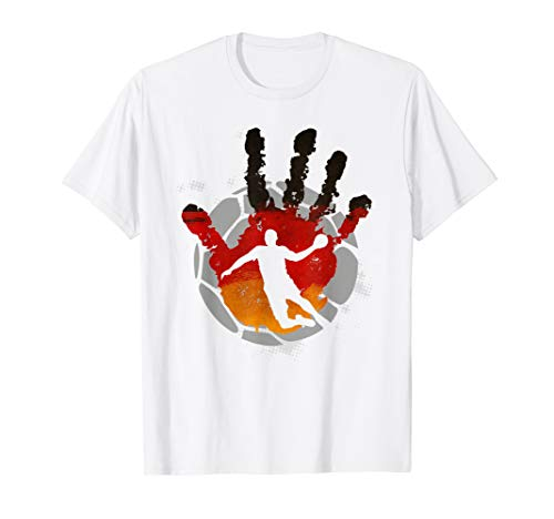 Handball Deutschland Fan T-Shirt Mannschaft Sport