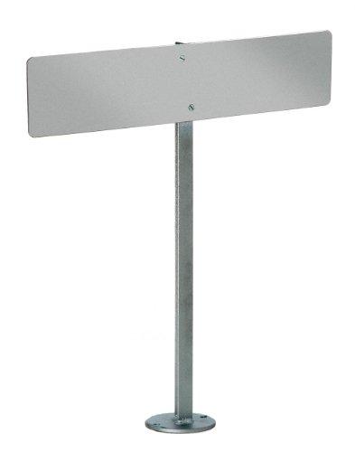 GAH-Alberts 690663 Nummernschild-Befestigung - zum Aufschrauben, feuerverzinkt, 550 mm
