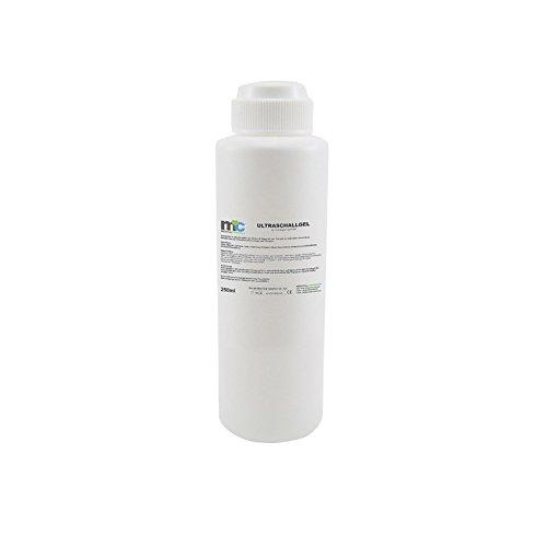 Ultraschallgel 250ml Flasche, Sonographie Gel, Leitgel, Kontaktgel, Ultraschall Gel, Übertragungsgel -