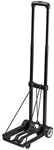 Meister Sackkarre Mini  Klappbar  Bis 45 kg Tragkraft  Höhenverstellbar | Stapelkarre für Getränkekisten | Transportkarre mit höhenverstellbarem Griff | Transporthilfe mit Metallrahmen | 8985730