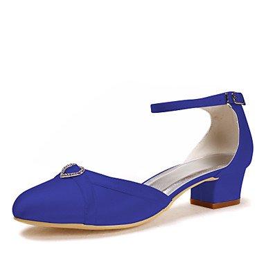 Zormey Frauen Schuhe Obermaterial Jahreszeit Kategorie Formatvorlagen Anlass Ferse Art Akzente Farbe Leistung Blue