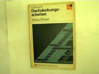 Dachdeckungsarbeiten Lehrbuch