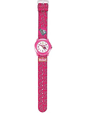 Scout Mädchen-Armbanduhr Analog Quarz Plastik 280305009