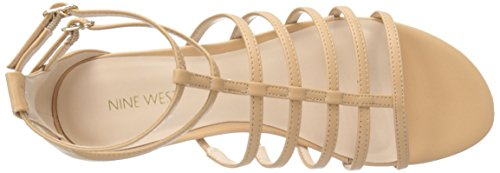 Nine West Aboutthat synthétique Robe Sandal Light Natural