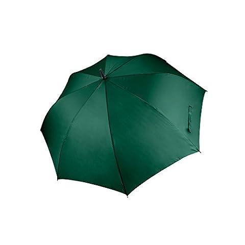 Kimood Unisex Large Plain Golf Umbrella (One Size) (Bottle Green)