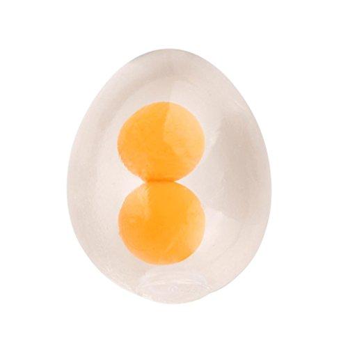 Preisvergleich Produktbild Stressabbau,  Hansee Flippiges Ei Splat Ball Squishy Spielzeug Stress Relief Eier Eigelb Bälle für Kinder