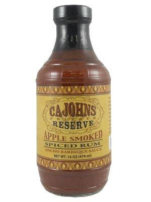 Ca John's BBQ Apple Smoked Spiced Rum (Zucker Brauner Spa)