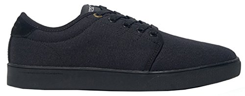 Wesc Men's Off Deck Men's Sneaker In Black In Size 41 Black
