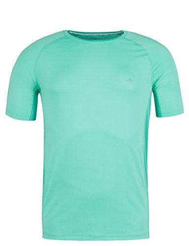 Kurzarm-shirt Reiten (Jeff Green Herren Atmungsaktives Kurzarm Funktions Shirt Marvin, Größe - Herren:58, Farbe:Jade Cream)