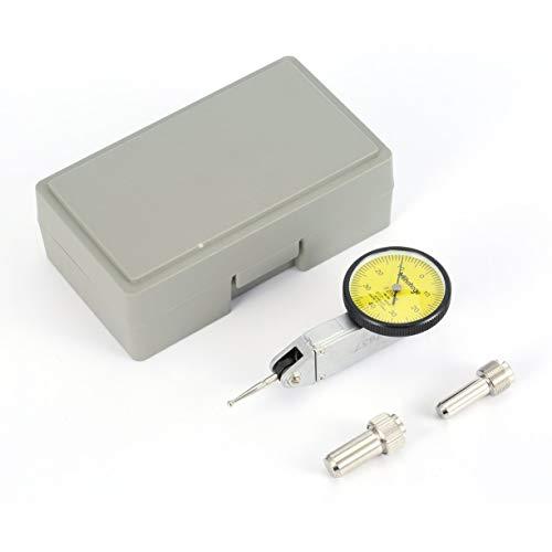 Detectoy 0-0.8mm Präzisions-Messuhr Indikator Füllstandsanzeige Skala Metrische Schwalbenschwanz-Schienen Hohe Genauigkeit ausgewogene Zifferblätter für die Bearbeitung