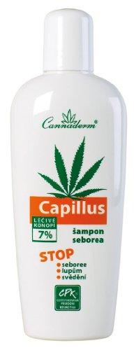 Capillus Hanf Shampoo Behandlung der Kopfhaut mit Seborrhoe (Seborrhoisches Ekzem) oder Psoriasis Haut