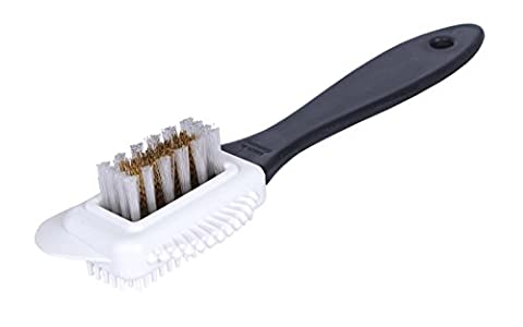 Kaps Quality Nubuck and Suede Multifunctional 4-Sided Cleaning Shoe Brush,