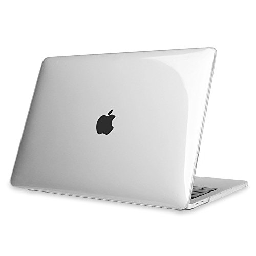 """Fintie MacBook pro 13 Custodia Copertina 2016 - Trasparente Plastica Cover Rigida Duro Caso per ULTIME 13-pollice MacBook Pro 13"""" (2016 Rilascio) A1706 / A1708 con / senza Touch Bar and Touch ID, Trasparente Chiaro"""