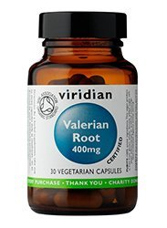 Viridian -Organic Valerian Root 400mg- 60 Vegetarian Capsules by Viridian