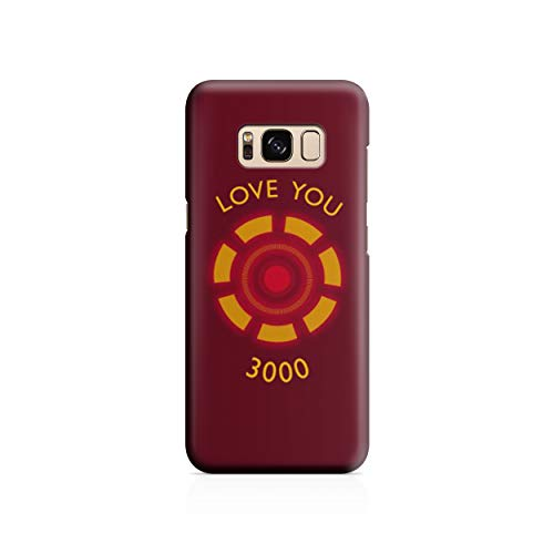 Appfix Cases Avengers - Love You 3000 - UK Manufactured Back Case Hard Cover Custom Modern Design Protective Plastic - Samsung S7