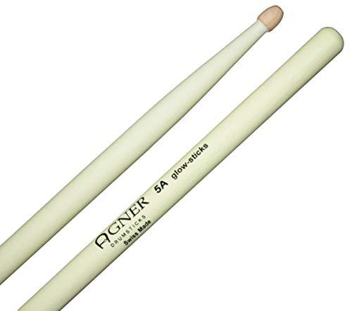 Agner Drumsticks 5A UV Glow Sticks Leuchtend (Preis Von Glow-sticks)