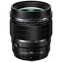 Olympus M.Zuiko Digital ED 45 mm 1:1.2 Pro Lens - Black