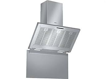 Bosch DWK09M850 hotte - hottes (Conduit / Recirculation, 800 m³/h, 420 m³/h, Mural, LED, 510 lux)