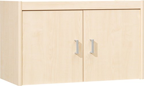 Cs 10 (CS Schmalmöbel 10/121 Aufsatz-Schrank, Holz, ahorn, 72 x 36 x 43 cm)