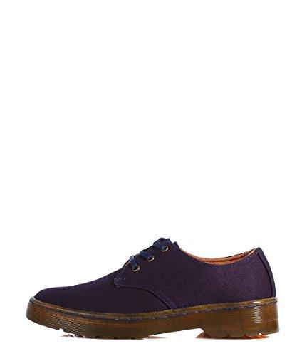 Dr Martens Gizelle Marin-Bleu Navy Shoes Baskets Stringate Bleu Bleu - Navy
