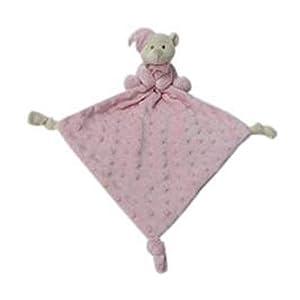 Duffi Baby Dou Osito Topitos, 24 x 24 cm, Color Topos Rosa (Master Baby Home, S.L. 4106-06)