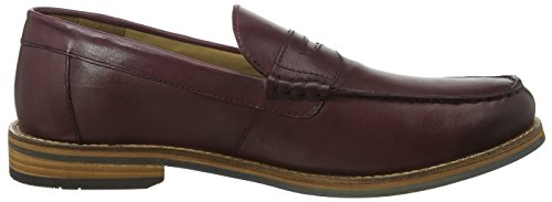 Ben Sherman Herren Stepney Burnish Slipper Rot (Burgundy 004)