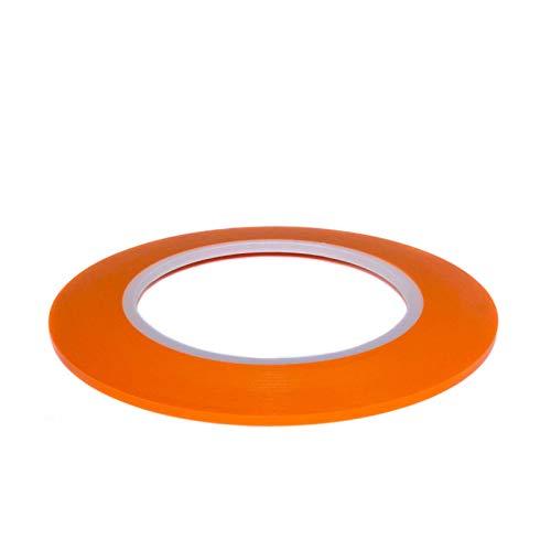 renband Zierlinienband lackieren Airbrush Masking Tape Orange 3mm x 55m ()