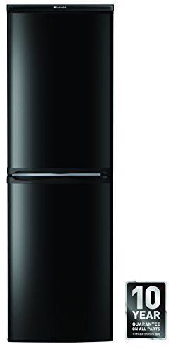 The RFAA52 K is 234l fridge freezer ideal for an average sized family in a stylish and sleek black finish with super freeze and auto-defrost feature