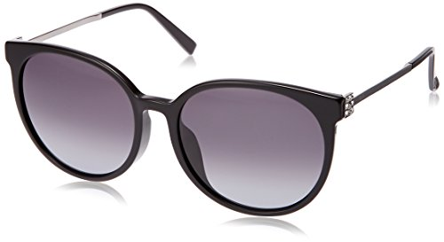 Max Mara Damen MM TILE FS 9O 807 58 Sonnenbrille, Black/Grey,