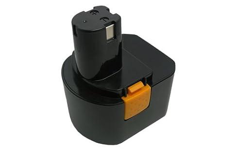 PowerSmart Ni-Cd,12.00V,1400mAh,Replacement Power Tools battery for RYOBI CCD1201, CHD1201, CHD1202, CTH1201, CTH1202, CTH1202K2, FL1200, HP1201KM2, HP1201M, HP1201MK2, R10510, RY1201, TDS4000, TF1100, Compatible Part Numbers: 1400652, 1400652B, 1400670