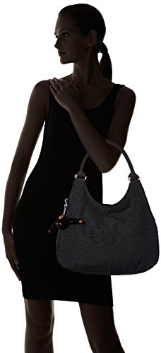 Kipling - Bagsational, Borse a Tracolla Donna Nero (Black)