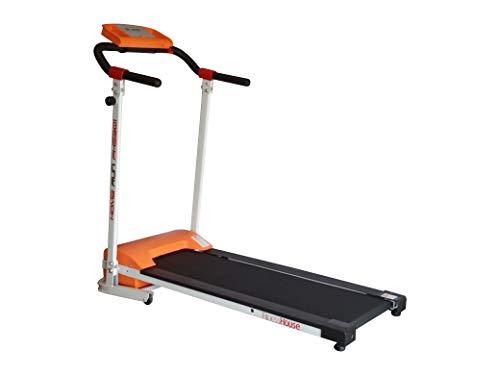 Fitness House Fh5301 Magentico Treadmill Pieghevole Impasse Running Computer, Bianco, Standard