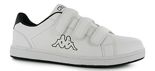 Kappa , Baskets mode pour homme blanc/noir