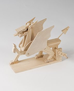 Timberkits - Dragon - Wooden Model Kit