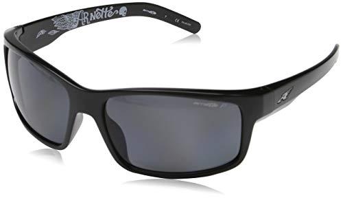 Arnette Herren 0AN4202 226781 62 Sonnenbrille, Schwarz (Black/Polargrey),