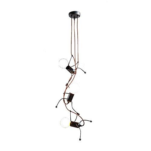 JU FU-Leuchte Nordic Lampe Wohnzimmer Kronleuchter Bösewicht Lampe Designer Restaurant Lampe LOFT Lampe Kinderzimmer Schlafzimmer Lampe Einfache Moderne @ -