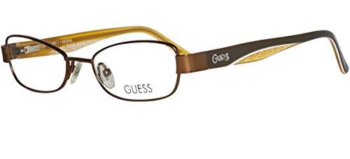 Guess Unisex-Kinder Brille GU9092 47D96 Brillengestelle, Braun, 47