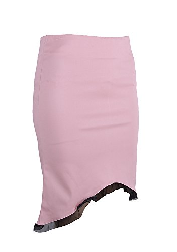 Edler PIN UP Pencil Skirt ROCK mit Ruffle Rockabilly -