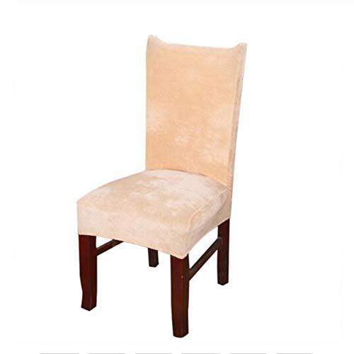 TLZR Abdeckung Staubschutzhaube Stuhl Fall Hochzeit Sitzbezüge Waschbare Stuhlhussen Schutzhüllen Für Stühle Schonbezüge Hochstühle Abnehmbare Hocker beige