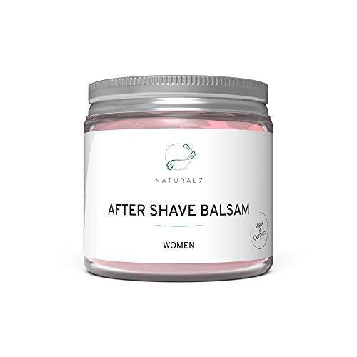 NATURAL7® After Shave Balsam Women | Die beste Methode gegen Pickel nach der Rasur