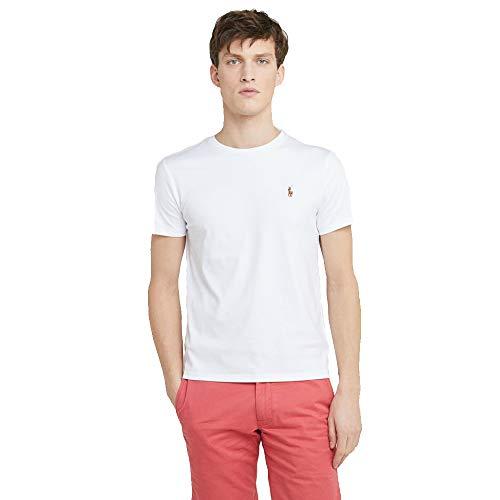 Ralph Lauren T-Shirt Interlook Custom Fit (XXL, White)