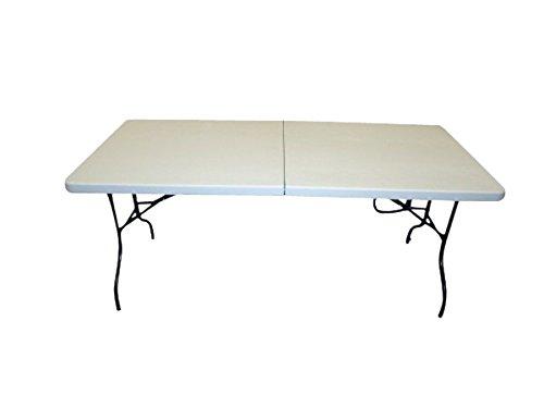 Table tréteau pliable de 1,8 m, facile à utiliser