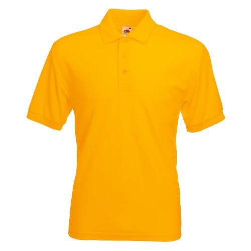 Fruit of the Loom Classic Poloshirt Sonnenblume