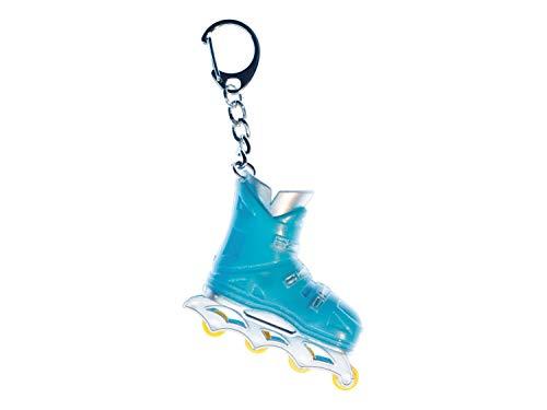 Miniblings Rollerblades Rollschuhe Inlineskates Schlüsselanhänger Anhänger blau