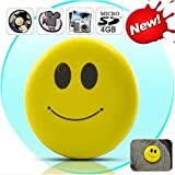 Hamtone ™ 720*480 Newest Smiley Face DVR Hidden Spy Mini Cam Recorder Camera