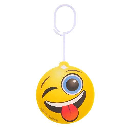 Deodorante per auto con emoji (smiley) da appendere, potente, durevole ed eff