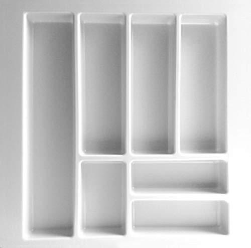 Besteckeinsatz UNIVERSAL50 mit 7-Facheinteilung (B 401-499 x T 437-496 mm) / Besteckkasten / Besteckeinsätze